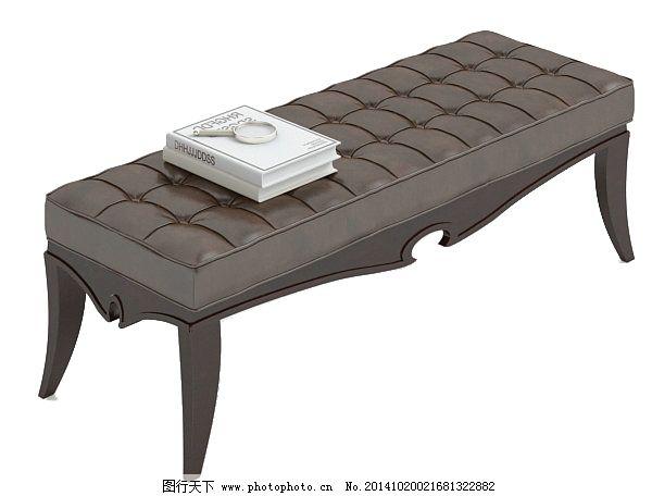 沙发凳 3d模型 沙发凳免费下载 客厅 欧式 家具组合 家具模型