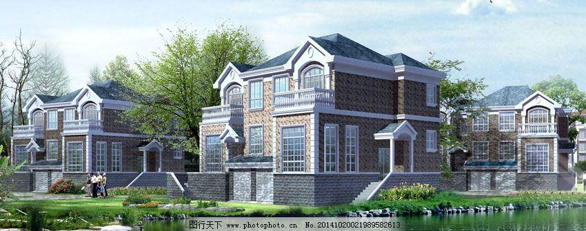 欧式风情别墅免费下载 别墅 风情 建筑 模型 模型 建筑 风情 别墅 3d