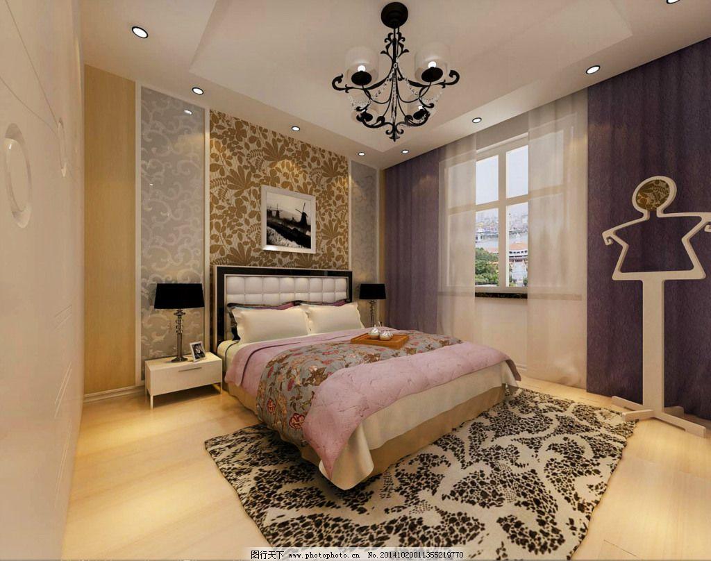 室内设计      现代简约 室内设计      墙纸 高清 欧式风格 淡色系