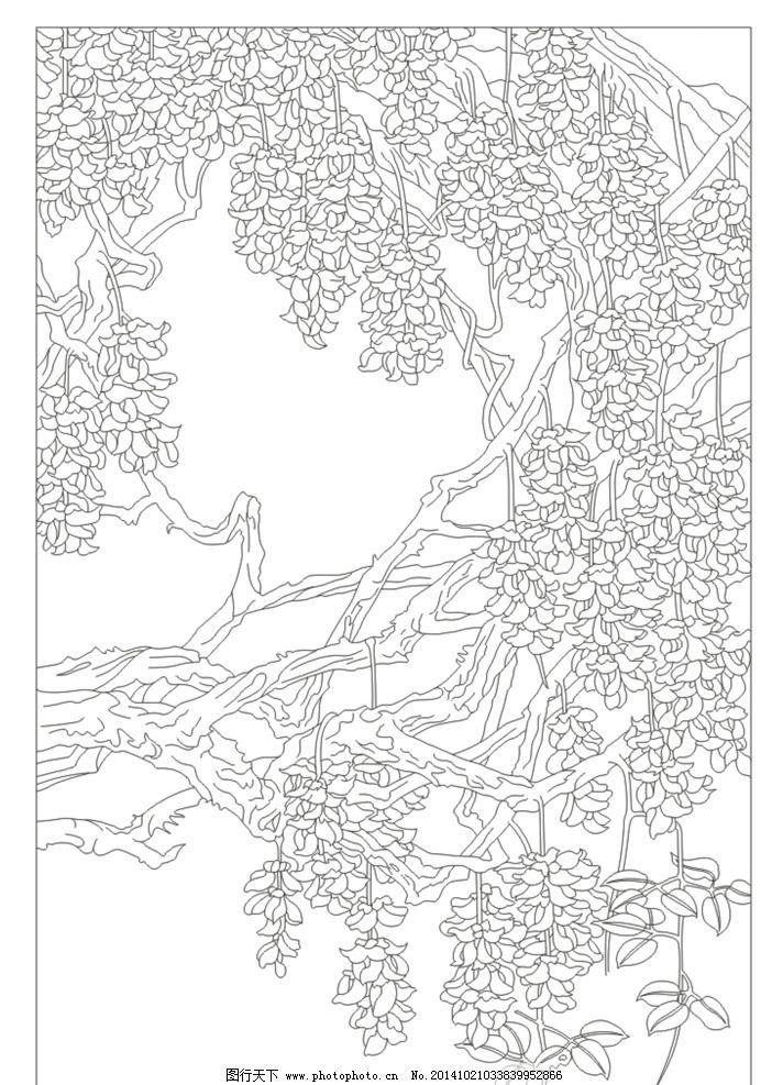 简笔画 手绘 线稿 712