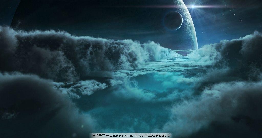 科幻风景图片