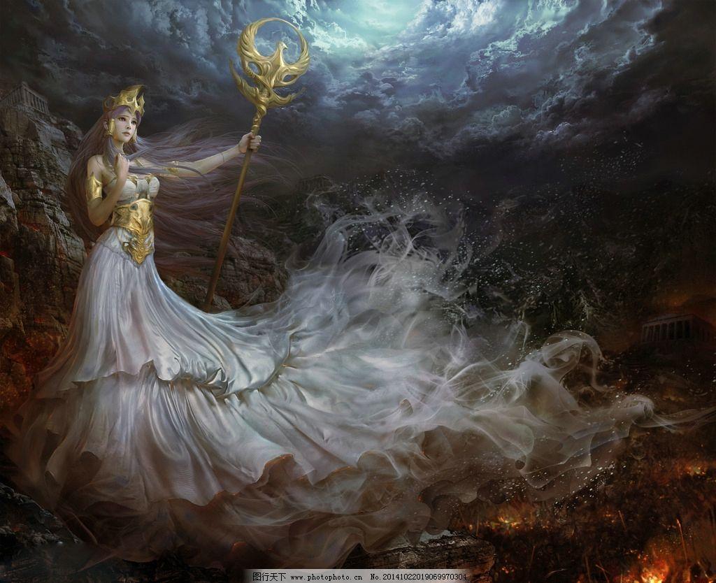 发张 手绘美女 美女 女神 数字绘画 板绘 游戏美女 唯美 美女壁纸