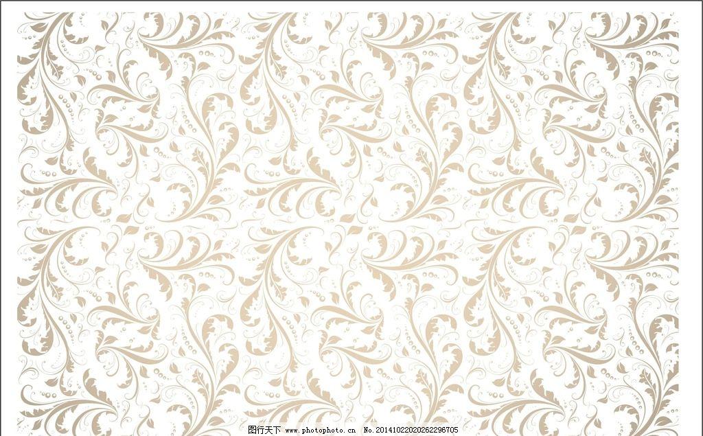 装饰花纹 底纹图案 欧式花纹 墙纸 室内图案