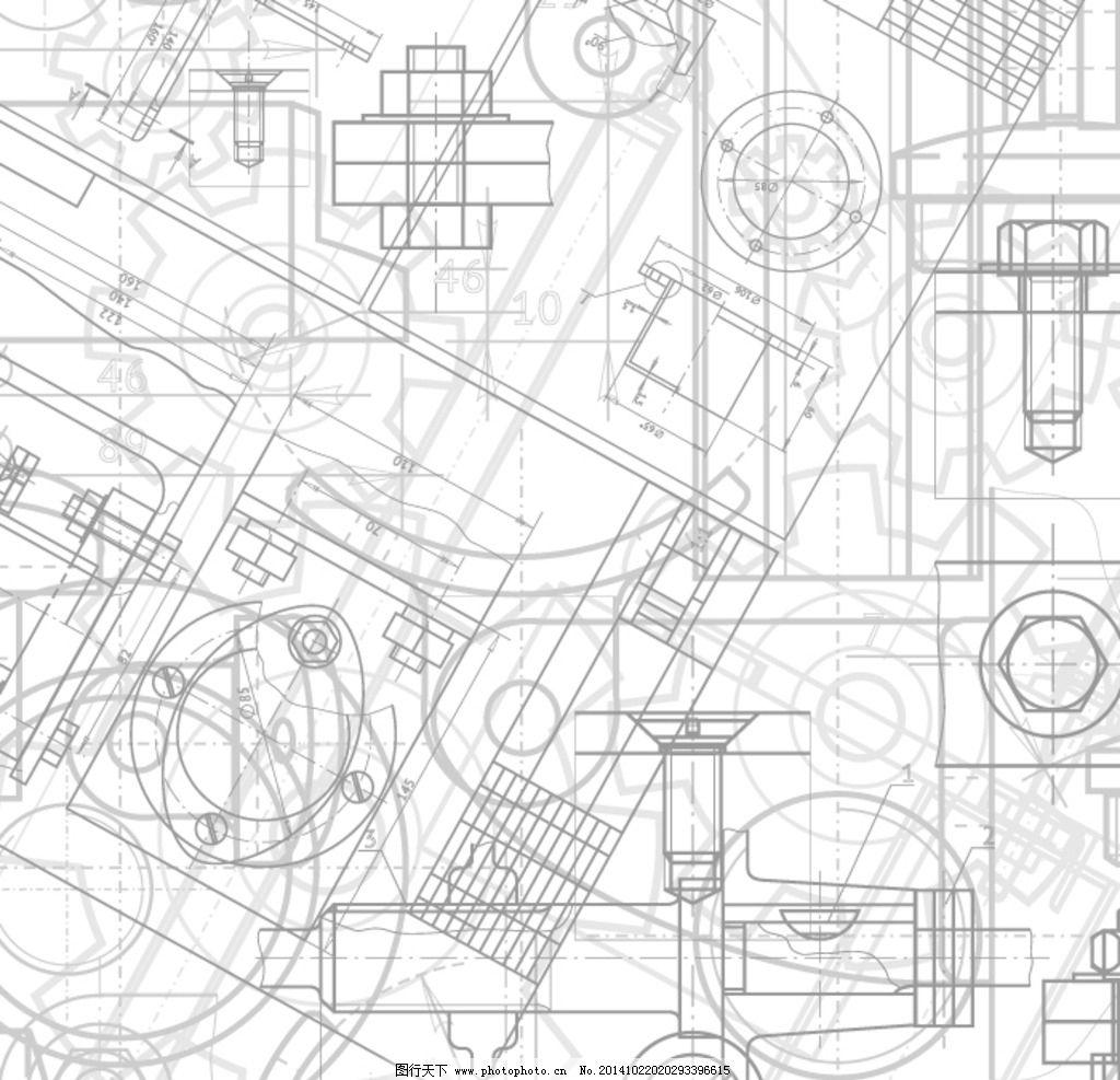 黑白风 专题 几何 抽象 立体 几何图形集 设计 底纹边框 背景底纹 ai