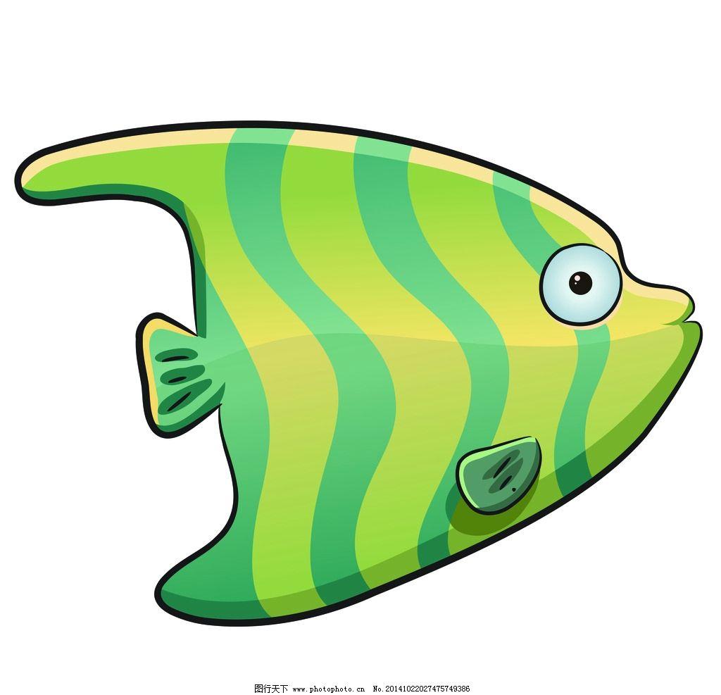卡通 海洋生物 鱼 可爱 素材 设计 生物世界 海洋生物 150dpi jpg
