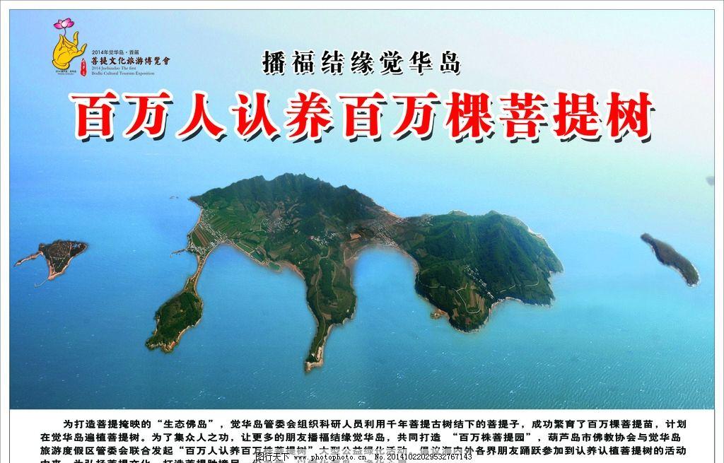 菩提 觉悟 菩提树 禅      觉华岛      设计 广告设计 广告设计 70
