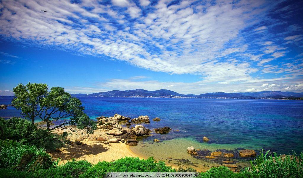 秦皇岛 大海 风景 风光 唯美 清新 意境 自然 海边 蓝天 白云 摄影