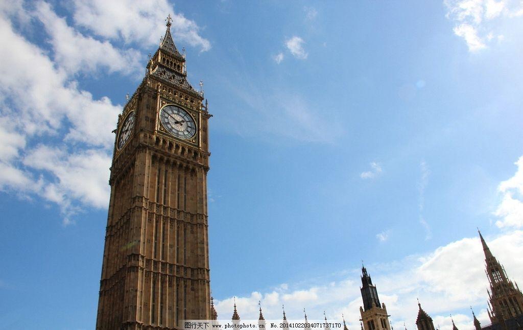 唯美英国塔图片
