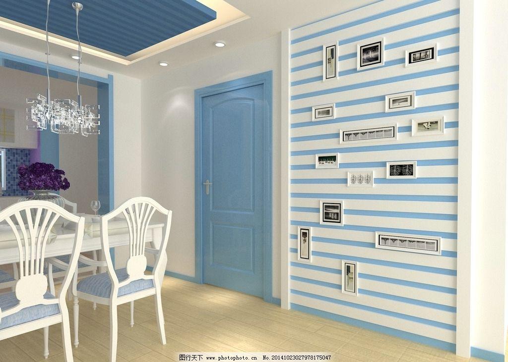 地中海餐厅图片_室内设计_环境设计_图行天下图库