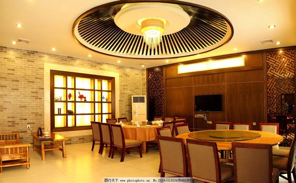 饭店客房 餐馆 酒店客房 包间 中式装饰 中式包间 包房 酒店图片