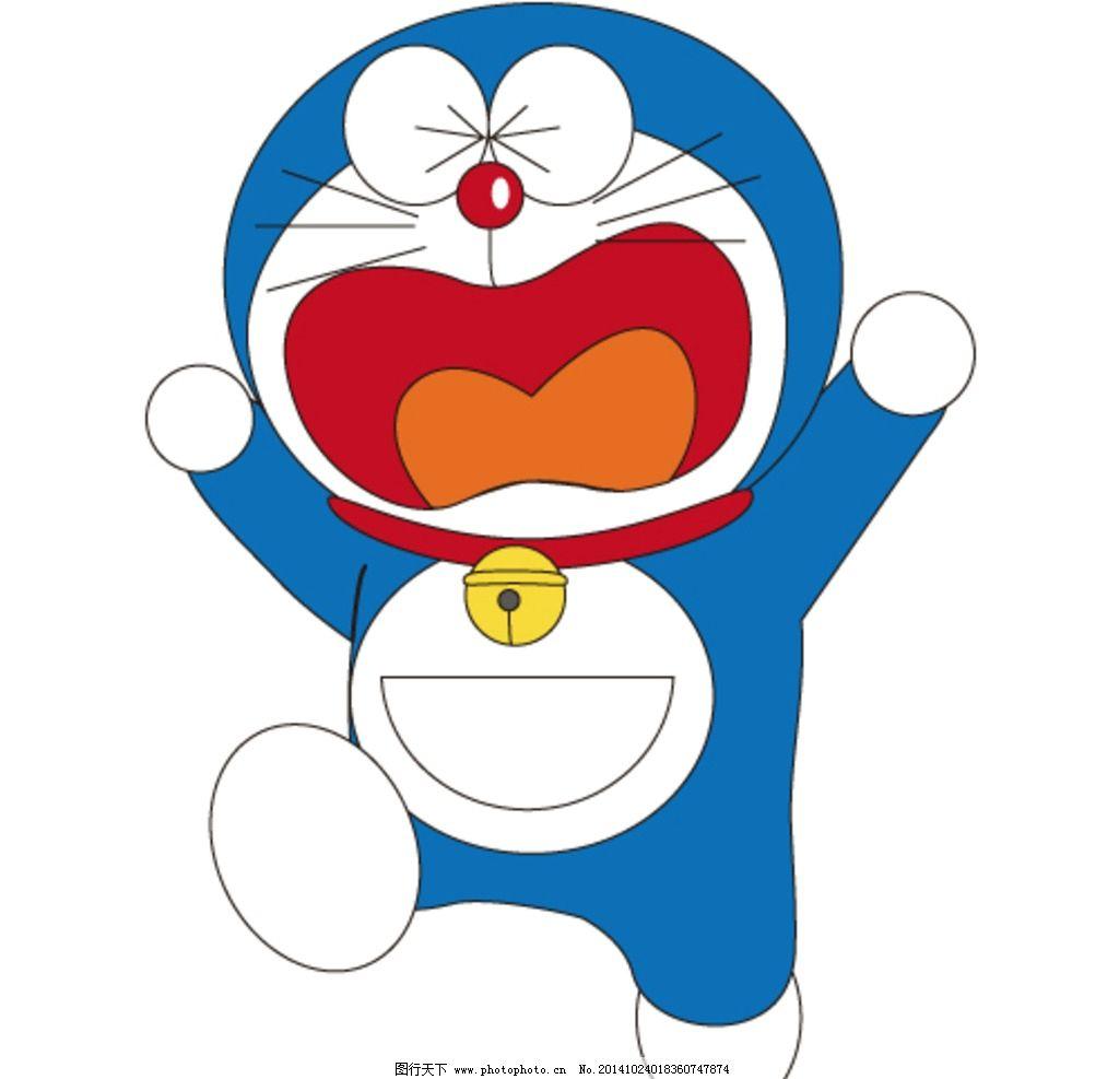 一份哆啦a梦机器猫主题卡通幻灯片模板,非常可爱,可用图片