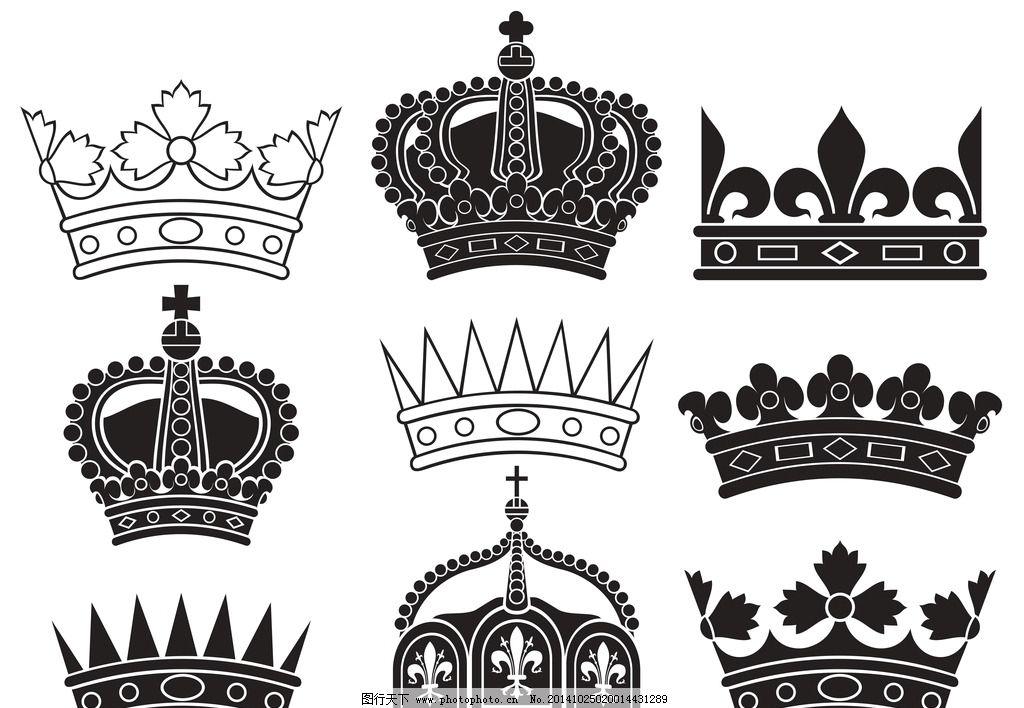 皇冠图片,欧式皇冠 王冠 花纹 帽子 皇家 皇族 标志