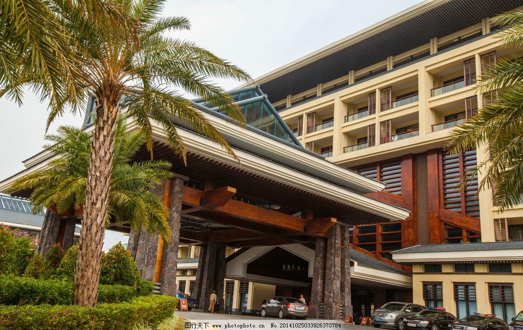 五星级宾馆 豪华酒店 建筑园林 海南三亚 酒店 休闲度假 欧式风格