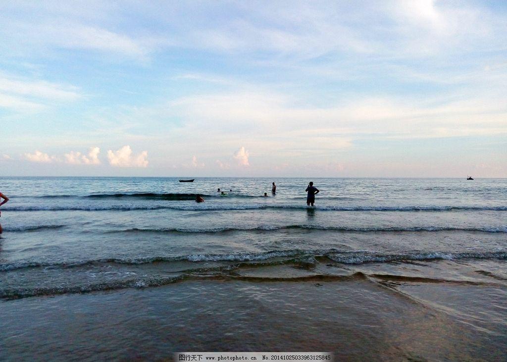 石梅湾海边图片
