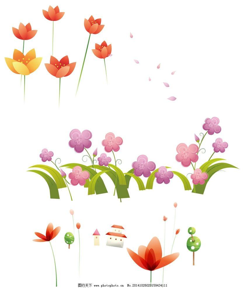 花朵 卡通图片