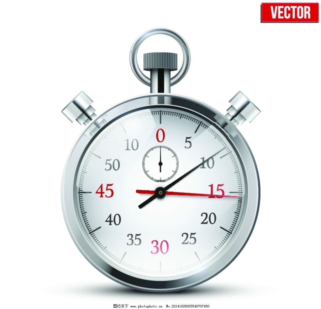 秒表怎么看图解