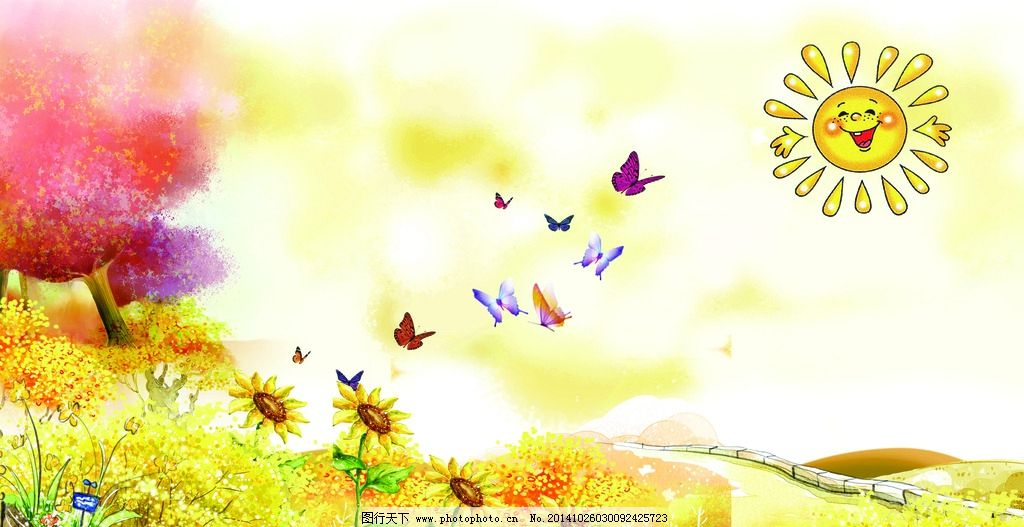 韩国插画图片,韩国插画背景 淡雅 背景素材 绿色 清新
