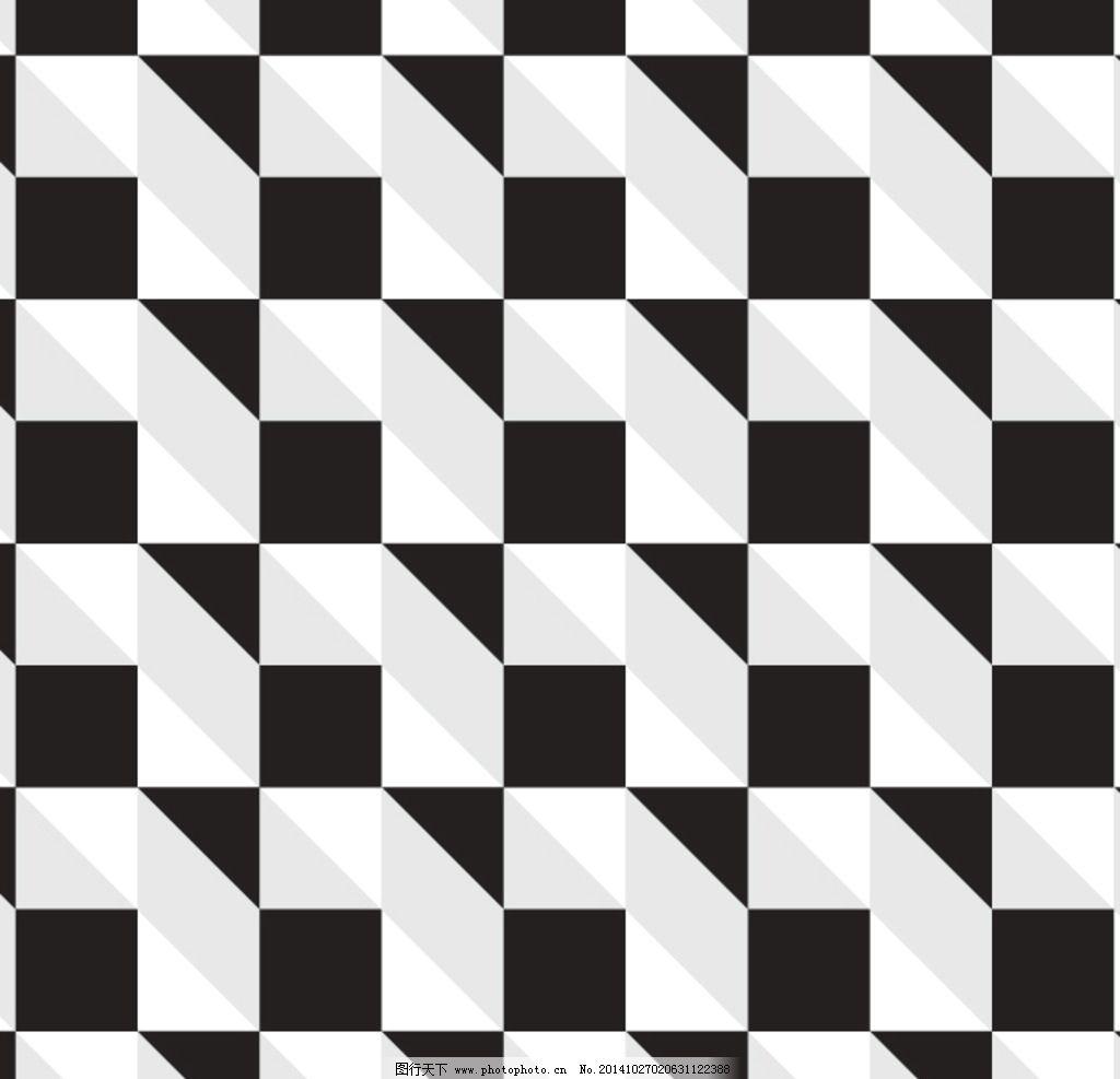 黑白风 几何感 矩形 灰色 黑色 几何图形集 设计 底纹边框 抽象底纹图片