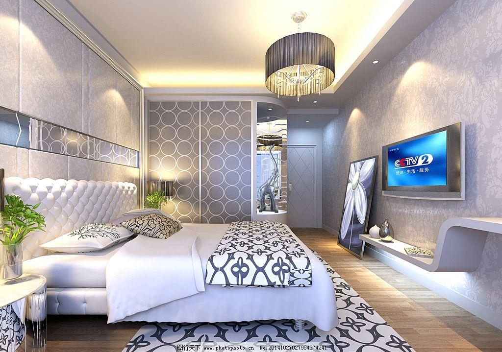 卧室效果图 欧式房间效果 大理石效果 室内设计 欧式效果图 房间效果