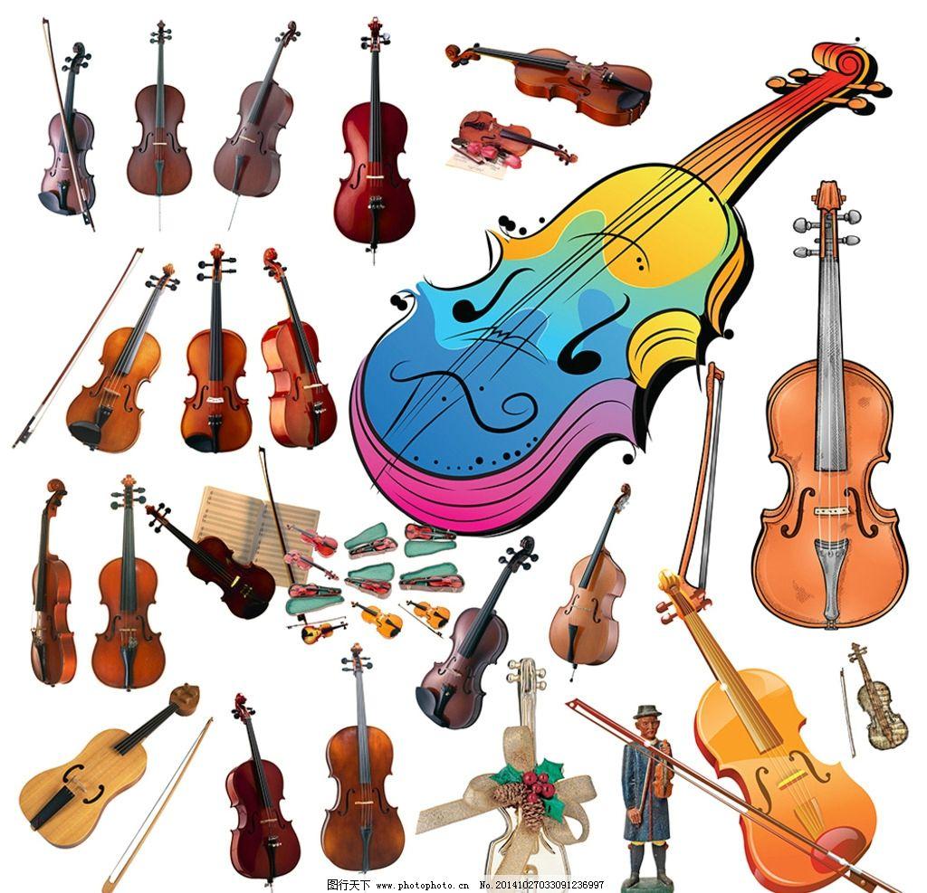 小提琴素材图片图片