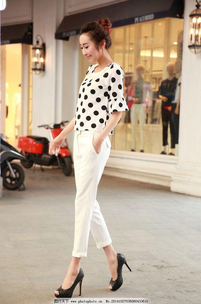 美女 街拍 夏天 时尚 亮丽 摄影 人物图库 女性女人