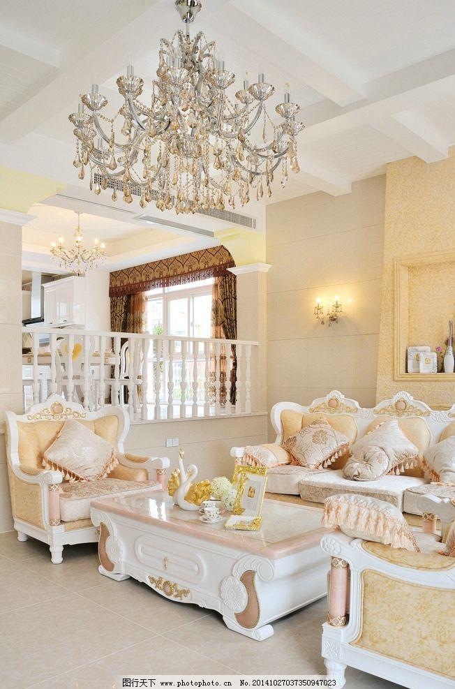 欧式沙发家具照片图片