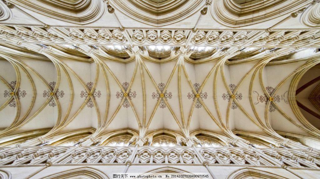 宫廷天顶画 皇家 皇家建筑 豪华建筑 建筑艺术 石柱雕花 教堂雕刻