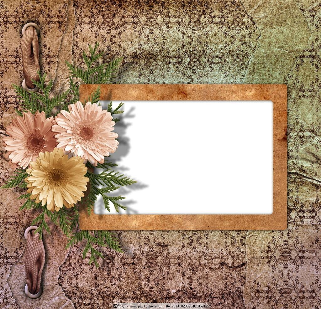 欧式花纹 空白相框 欧式 花纹 空白 相框 花卉 边框 花边 底纹 相框素