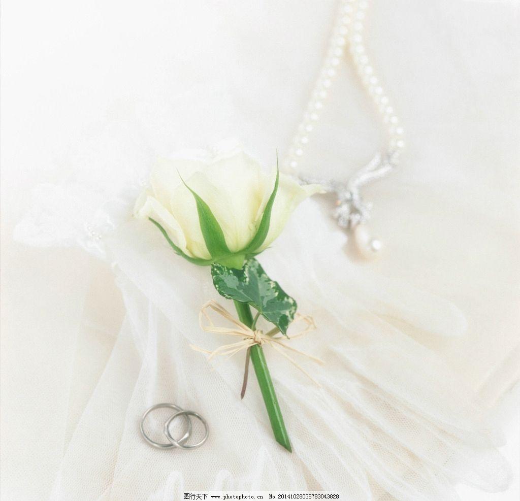 婚纱 鲜花 花束 新娘捧花