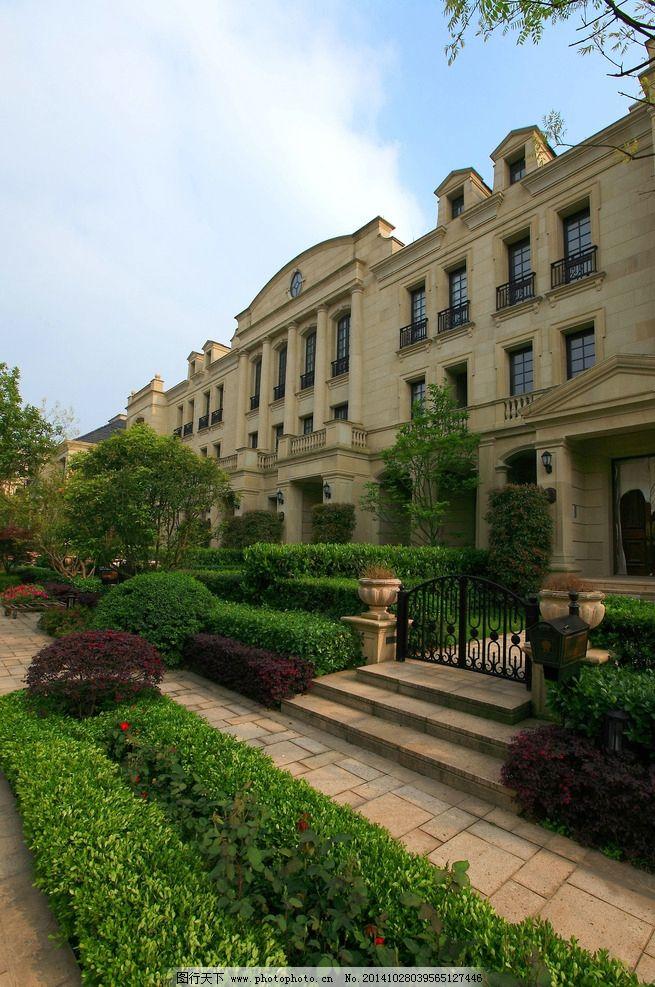 设计图库 环境设计 园林设计  欧式 法式 高贵 建筑 干挂 石材 别墅