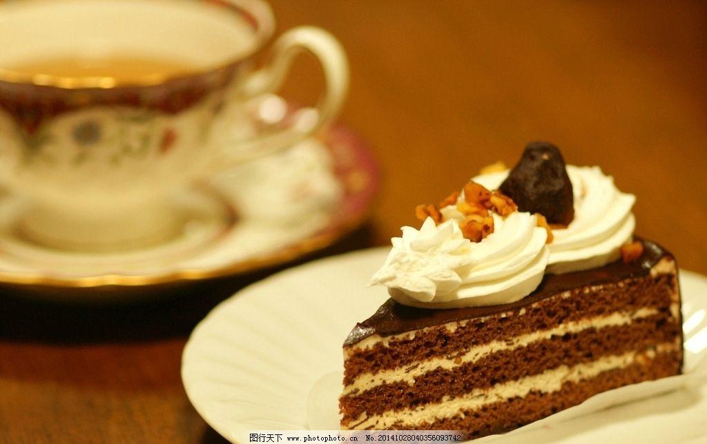 巧克力蛋糕 西餐美食 甜点 餐饮美食 摄影 切片蛋糕 可爱蛋糕 美味