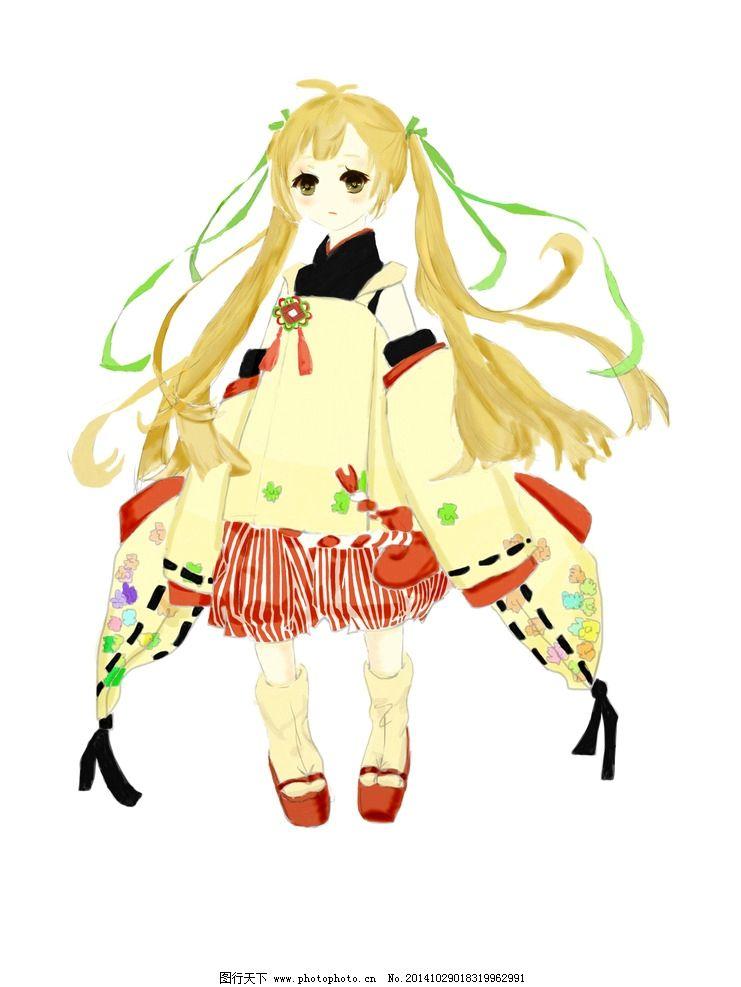 洛丽塔 小萝莉 萌 可爱 日式动画  设计 动漫动画 动漫人物 256dpi