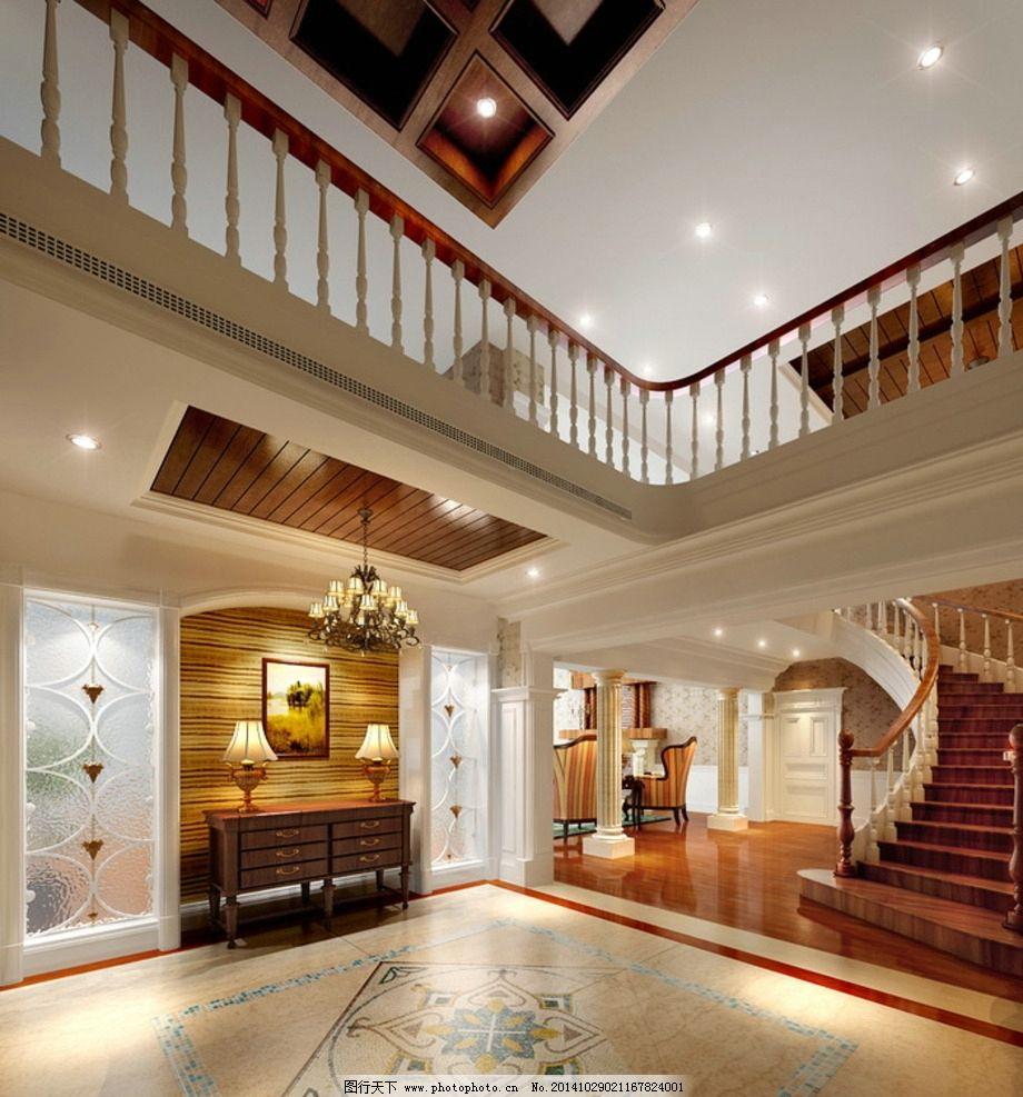 大厅 楼梯间 效果图 室内设计 渲染 吊顶 家装 卧室 客厅 餐厅