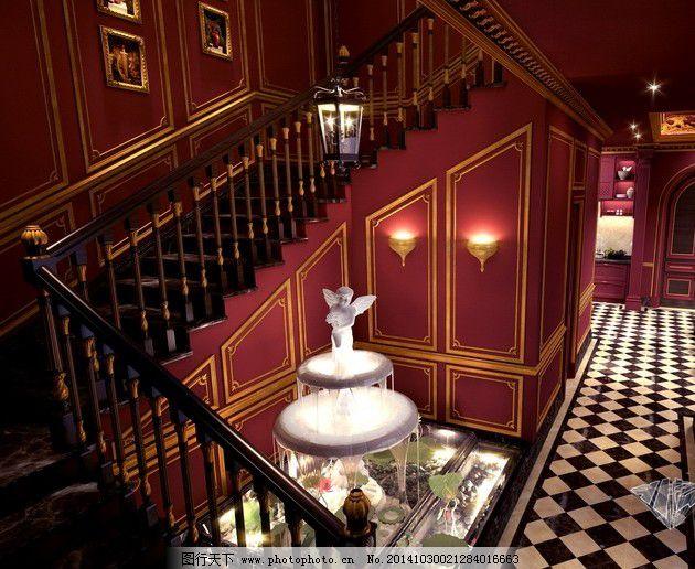 室内表格,室内问题免费下载楼梯红木室内装饰对会审模型图纸提出楼梯的图片