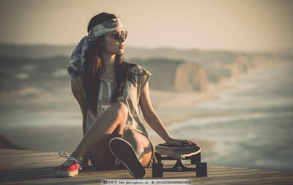叛逆 欧美范 滑板美女 滑板运动 滑板 美女 欧美范美女 欧美美女 运动图片