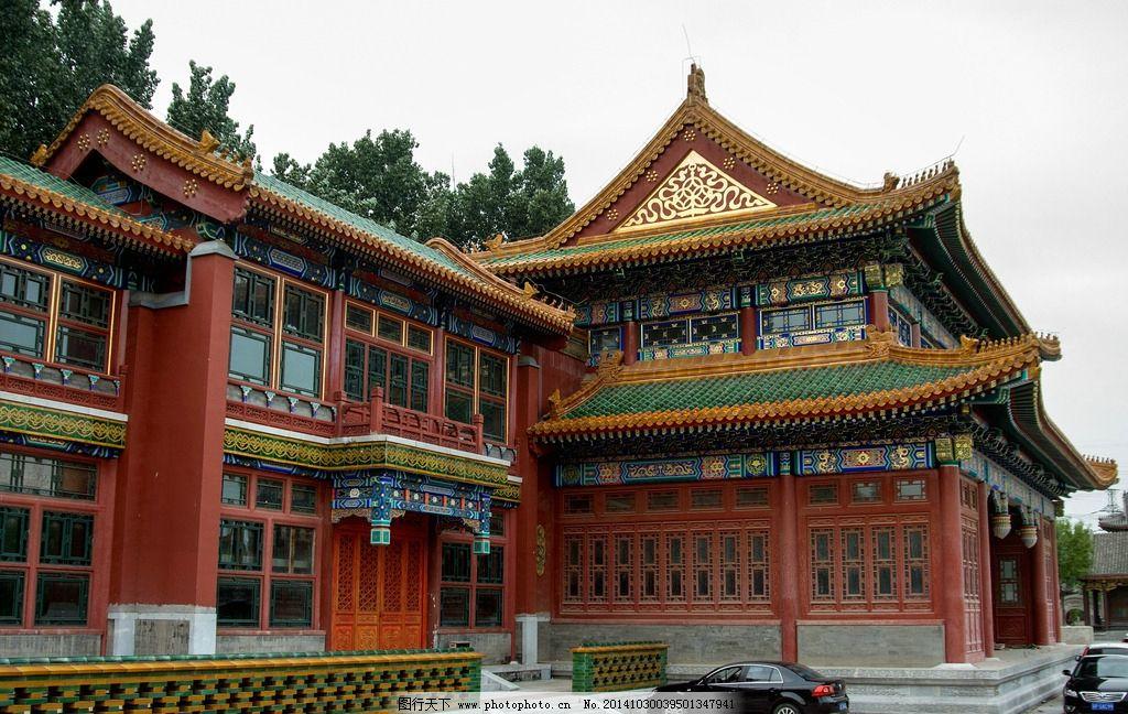 传统建筑 北京古建 仿古建筑 中国古建 吉祥图案 中国风 榫卯结构 木
