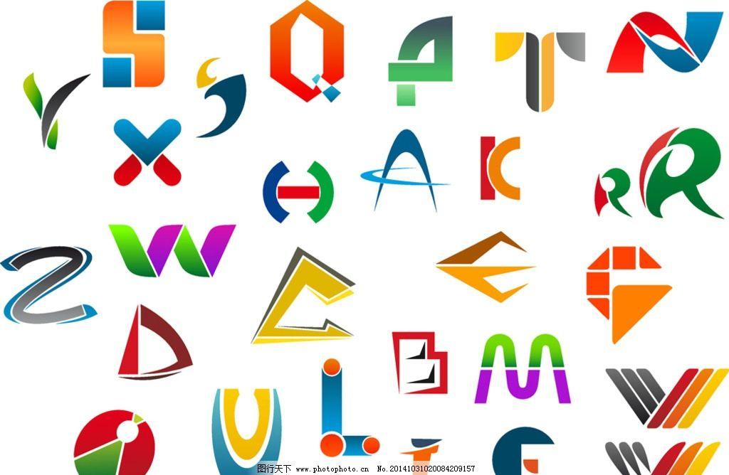 设计图库 海报设计 美食海报  字母设计 英文字母 卡通字母 手绘英文
