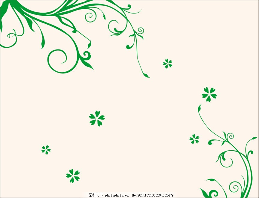 花纹免费下载 背景墙 花 花纹 藤蔓 对角 花 藤蔓 背景墙 花纹 矢量图