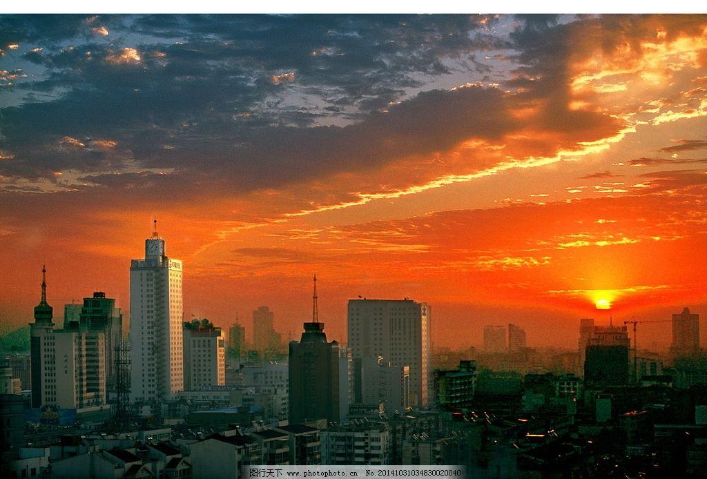 城市天空手绘壁纸