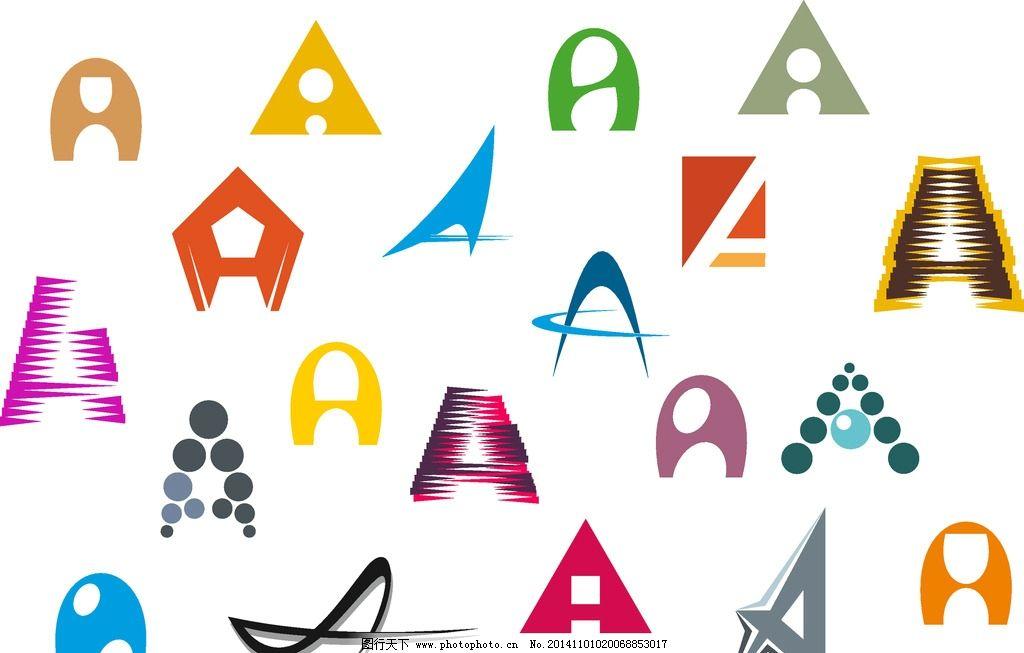 英文字母 卡通字母 手绘英文 图标 拼音 创意字母a 设计 矢量 设计