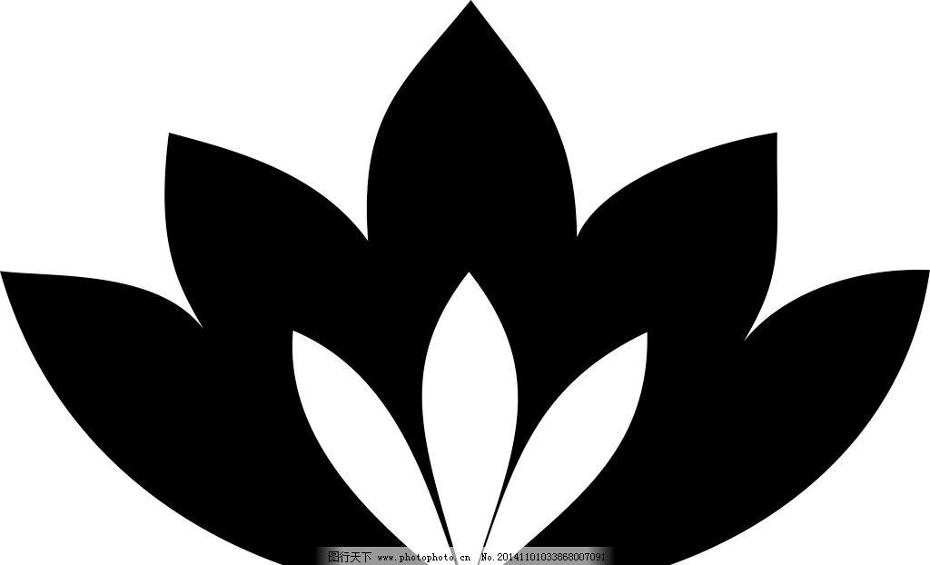 莲花 荷花 纹样 传统纹样 logo设计 纹样 设计 其他 图片素材 cdr