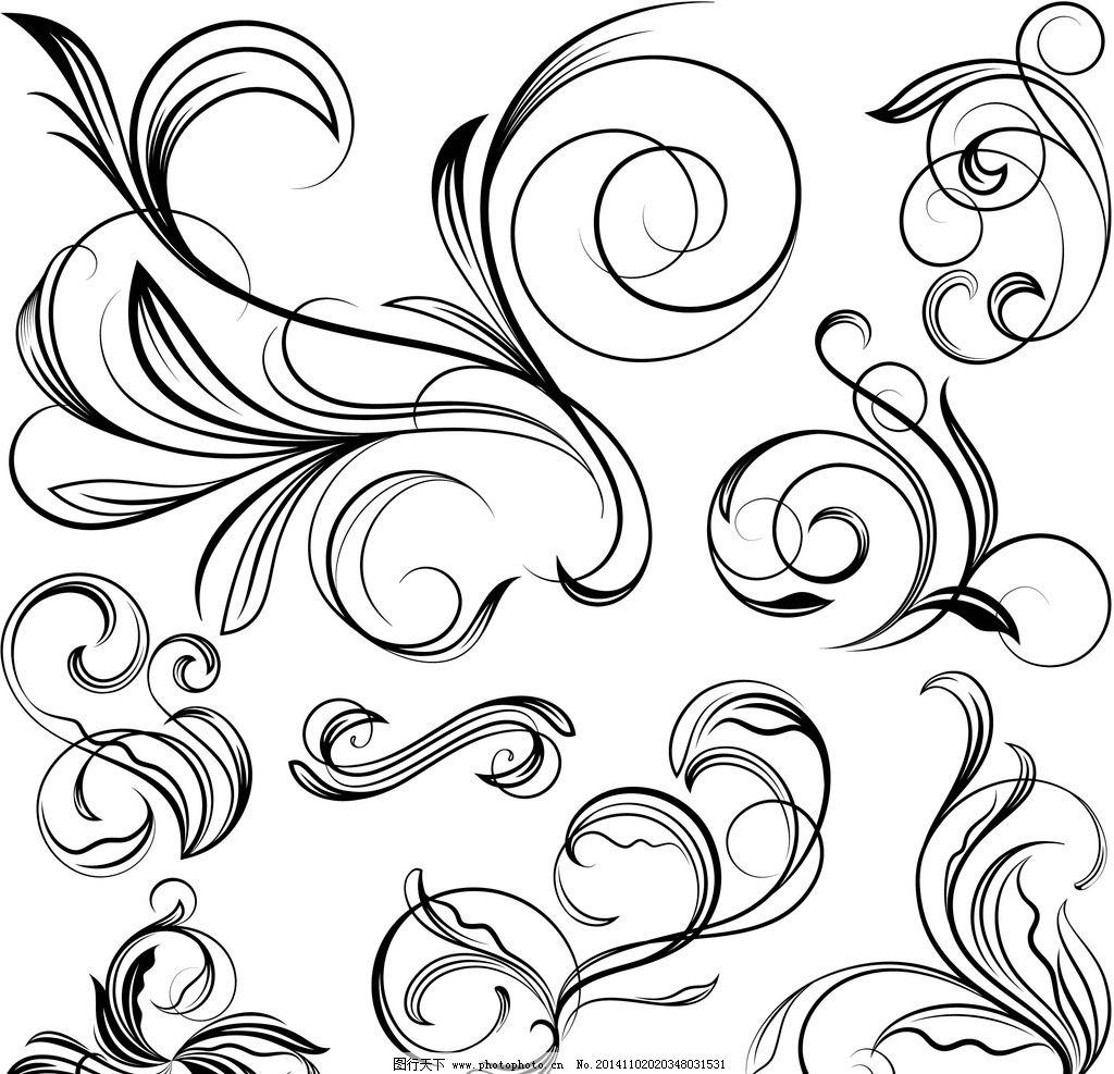 花纹 花边 边框 角花 花纹分割线 装饰花纹 花纹背景 古典花纹 复古