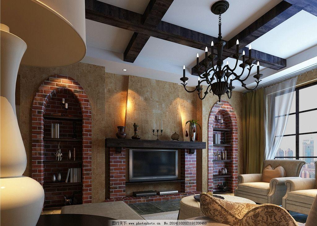 室内设计        客厅设计 装修效果图 家装 3d设计 3d渲染 3d效果