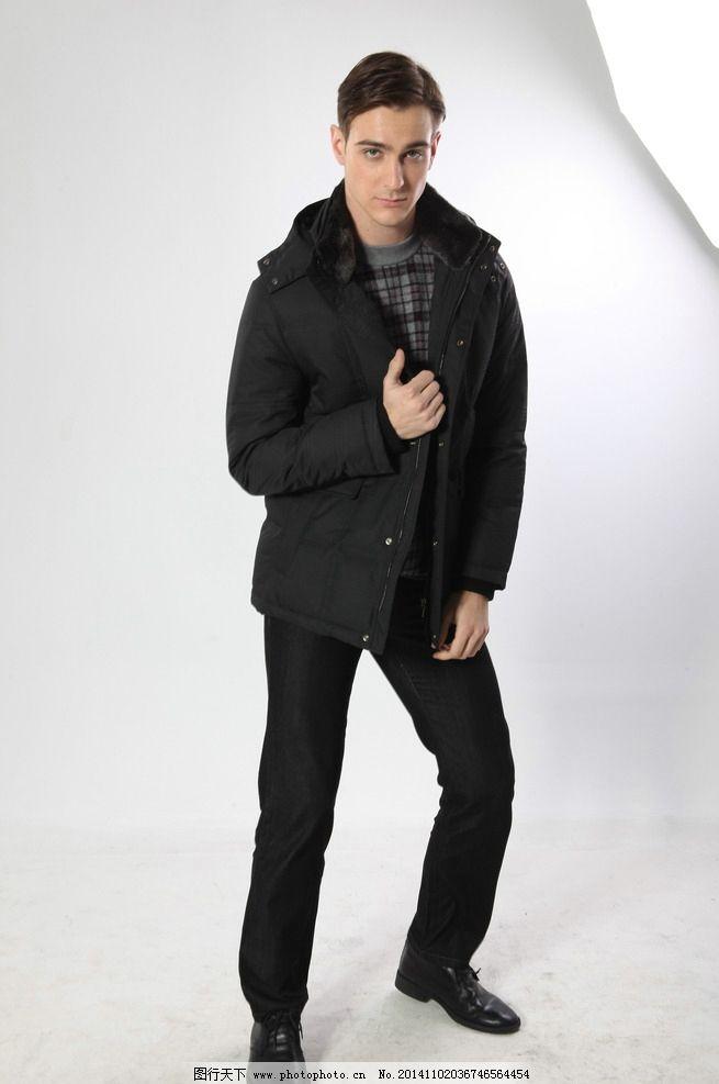 平面模特 健壮男人 外套 酷男 个性帅气 外国模特 欧美模特 外国男士