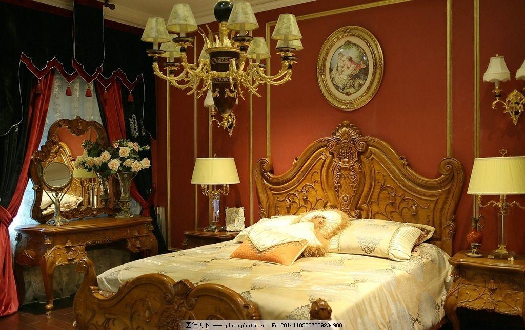 欧式家具图片 欧式卧室装修图片