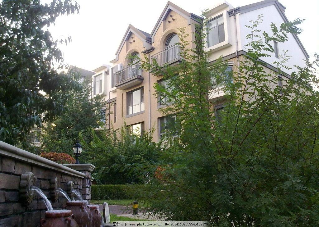 欧式房屋图片_园林建筑