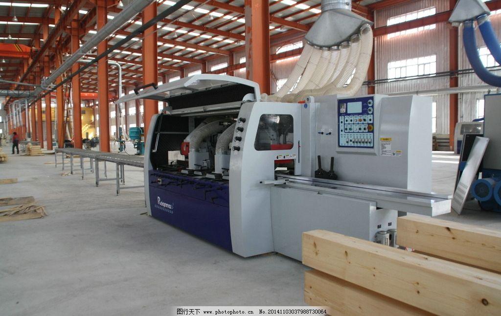 厂房 大型机械 木材加工厂 木屋工厂 工厂 摄影 摄影 现代科技 工业