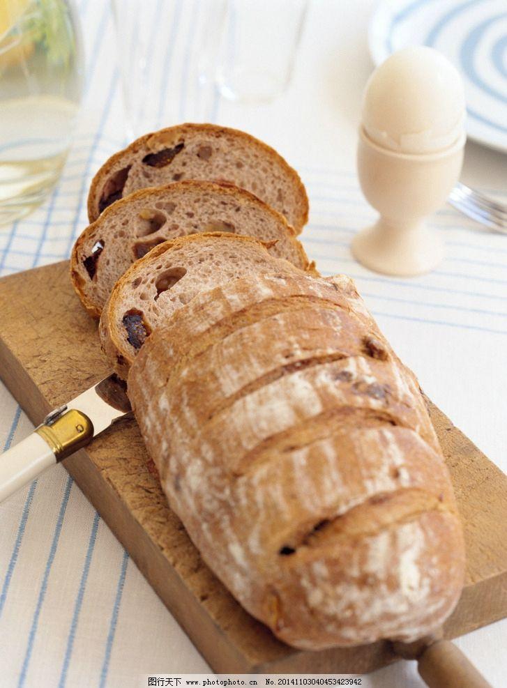 切片面包图片