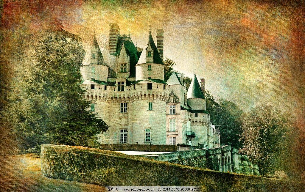 城堡 建筑 欧式建筑 教堂