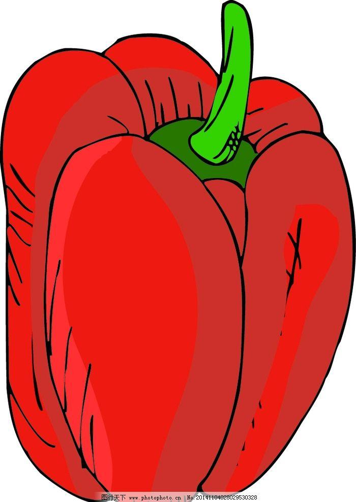 卡通 蔬菜 红辣椒 矢量红辣椒 蔬菜矢量 ai 水果 辣椒 矢量ai文件蔬菜图片